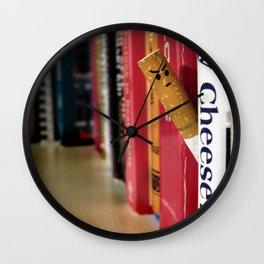 Cheesy Wall Clock