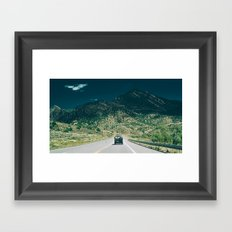 Synchro Bus Colorado Framed Art Print