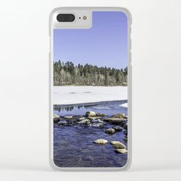Pure Mississippi Clear iPhone Case