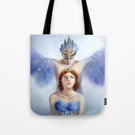 Bluebird and Florine Tote Bag