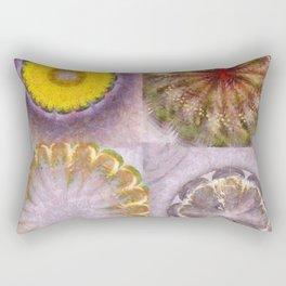 Paligorskite Being Flower  ID:16165-060146-91170 Rectangular Pillow
