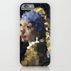 Pixelated Girl with a Pearl Earring iPhone 6s Slim Case