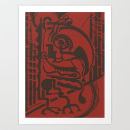 Dealer Art Print