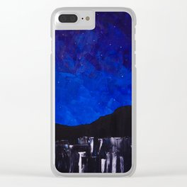 City of Stars Clear iPhone Case