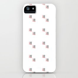 chinese ideogram : the tao iPhone Case