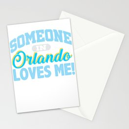 Someone in Orlando Loves Me Stationery Cards