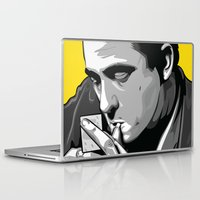 johnny cash Laptop & iPad Skins featuring Cash by Digital Sketch