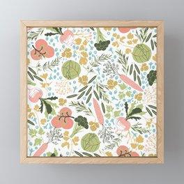 Veggies Garden Framed Mini Art Print
