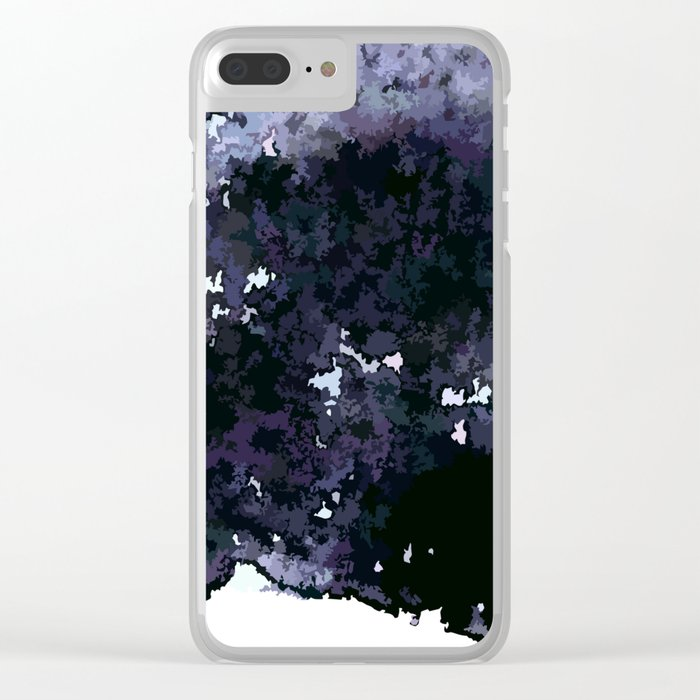 When the night is falling Clear iPhone Case
