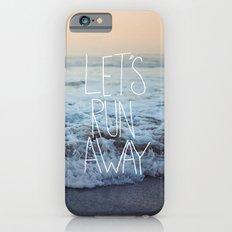 Let's Run Away x Arcadia Beach iPhone 6 Slim Case