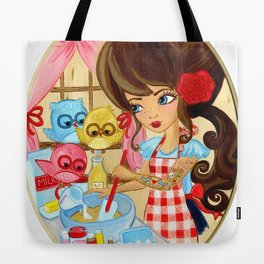Tweets and Treats Tote Bag