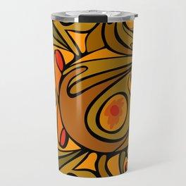 Rooster DeKooning Travel Mug