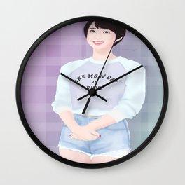 Exid Hyerin L.I.E. (Fanart) Wall Clock
