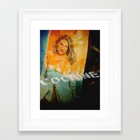 cocaine Framed Art Prints featuring cocaine by ARTito