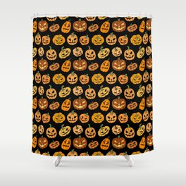 Jack o' Lantern Shower Curtain