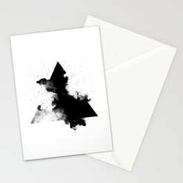 PLACE Triangle Smoke Stationery Cards