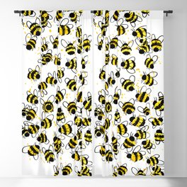 Bumble Bees Blackout Curtain