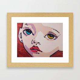 Her Name and Little Else Framed Art Print