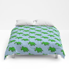 Cute Triceratops pattern Comforters