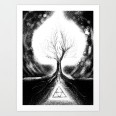 Triforce Roots Art Print
