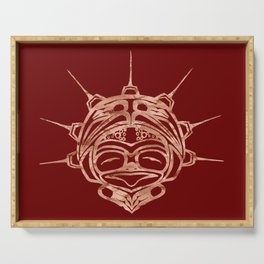 Copper Frog Blood Serving Tray