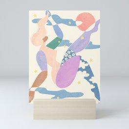 No fall, no flight Mini Art Print