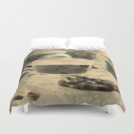 Coffee Club Duvet Cover