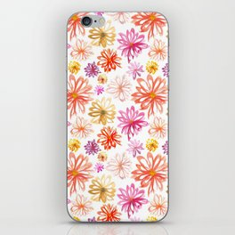 Painted Floral I iPhone Skin