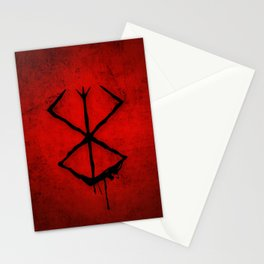 The Berserk Addiction Stationery Cards