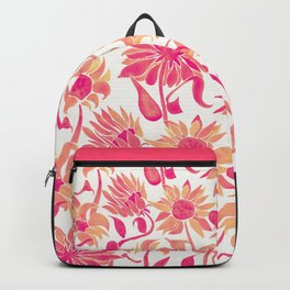 Sunflower Watercolor – Pink Palette Backpack