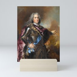 Nicolas de Largillire - Augustus the Strong, Elector of Saxony and King of Poland Mini Art Print