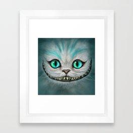 Smile Cat - CHESIRE Framed Art Print