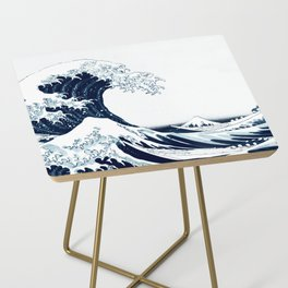 The Great Wave - Halftone Side Table