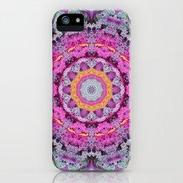 Kale mandala iPhone Case
