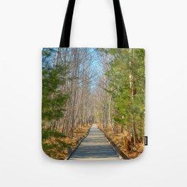 Jesup Boardwalk Trail Tote Bag