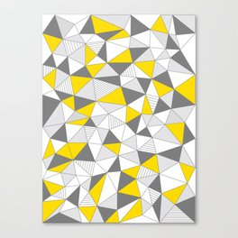 pattern-T Canvas Print