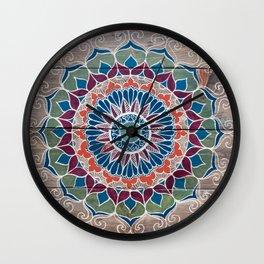 Joey Mandala Wall Clock