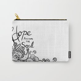 Hope Anchors the Soul Carry-All Pouch