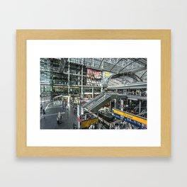 Berlin Hauptbahnhof  Framed Art Print
