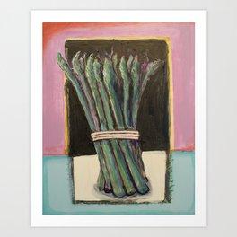 Asaparagus Bound Art Print