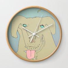 Dogdy dog Wall Clock
