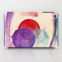 coldplay iPad Cases featuring Painting & Coldplay by Hector Pahaut