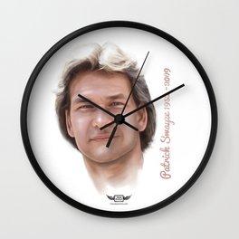 Patrick Swayze Wall Clock