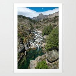Mountain Creek Art Print