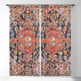 Djosan Poshti West Persian Rug Print Blackout Curtain