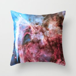 Carina Nebula, Grand Nebula. Throw Pillow