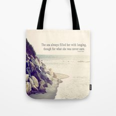 Filled with Longing Tote Bag