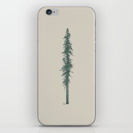 Love in the forest - tan iPhone Skin