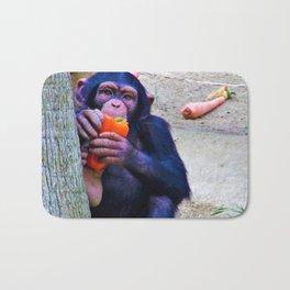 Baby Monkey has a Snack Bath Mat