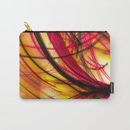 Heatwave Dynamic Abstract Painting Carry-All Pouch